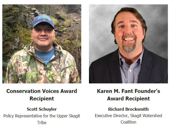 Awards recognize Skagit conservation leaders