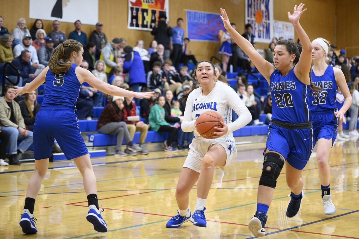 Mount Vernon Christian at La Conner girls' basketball