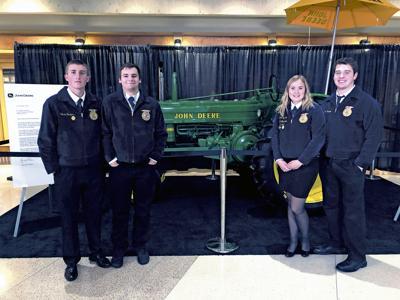 Stanwood FFA Agriculture Mechanics team