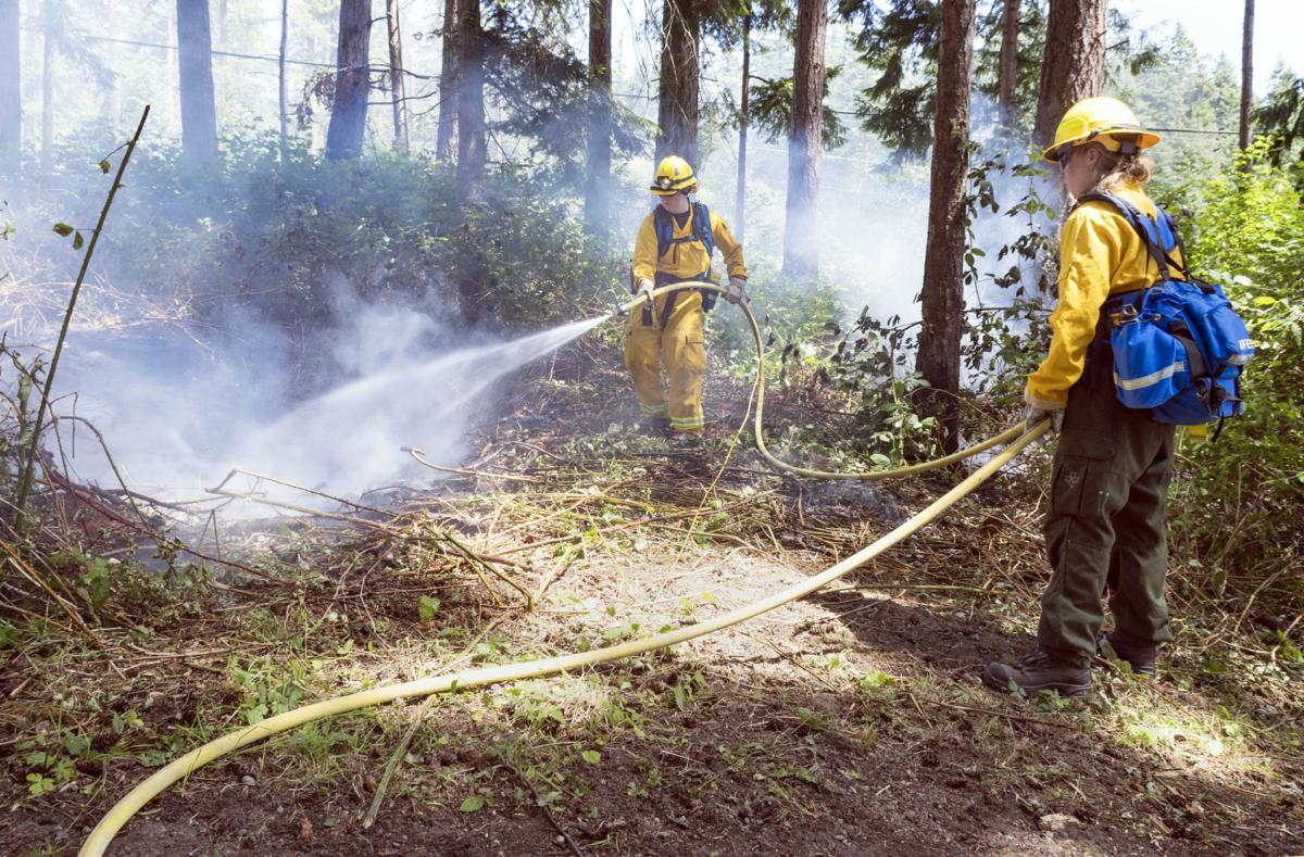 Mt. Erie Wildland Firefighter Training