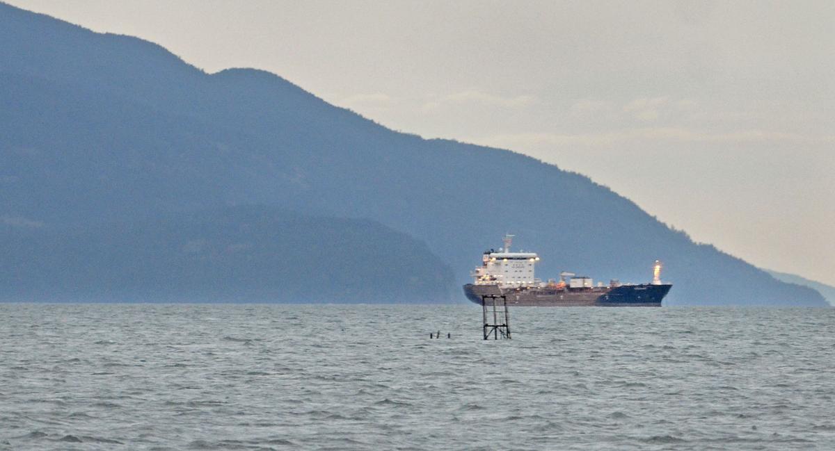 Ship off Samish Island