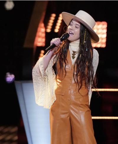 Savanna Woods survives second voice competition