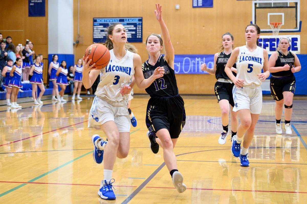Friday Harbor at La Conner girls basketball