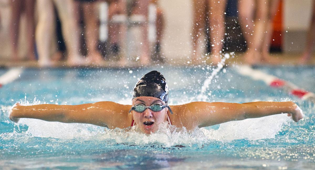 Girls Swimming: Mount Vernon at Stanwood, 10.16.18
