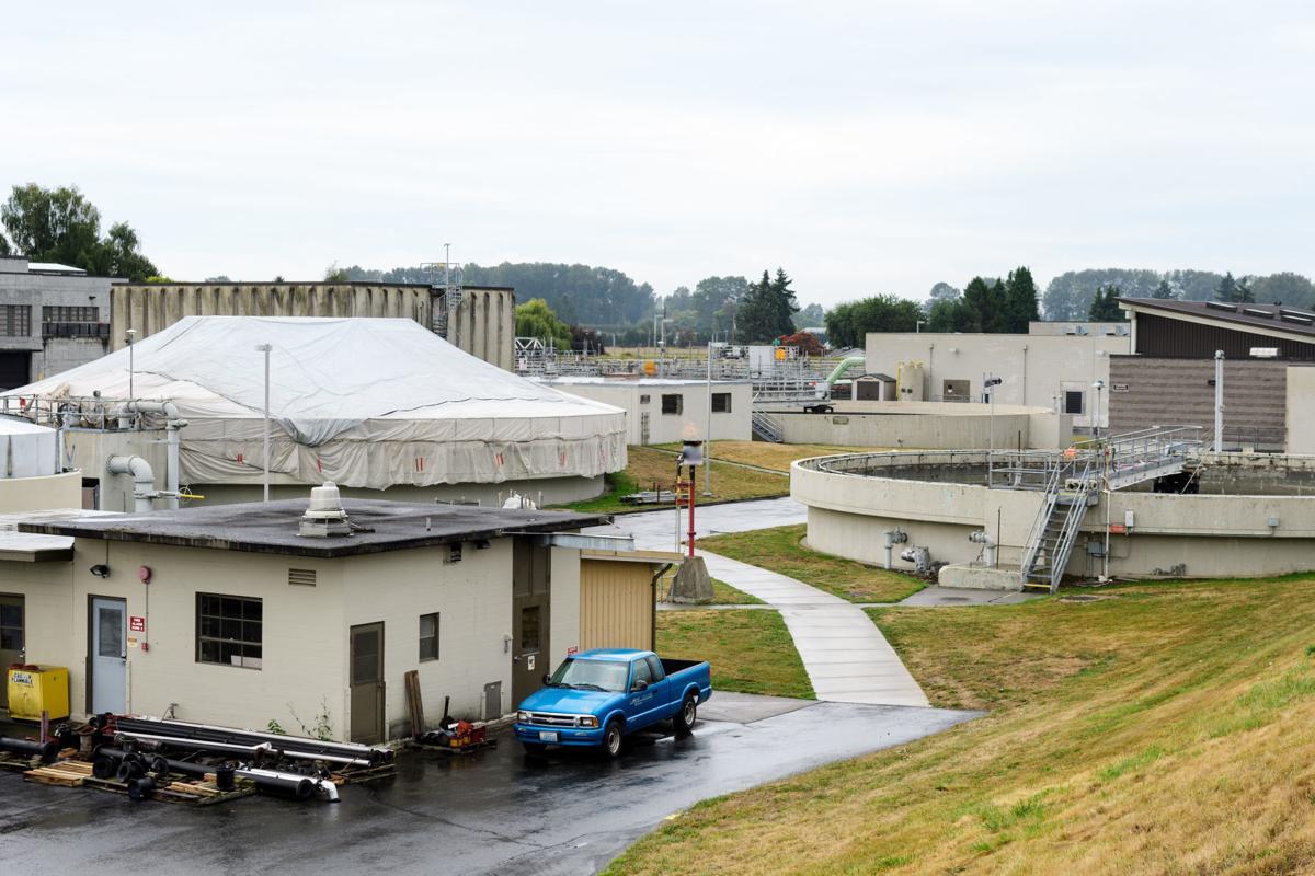 MV wastewater treatment plant