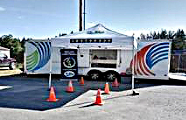 Camano DEM communications trailer