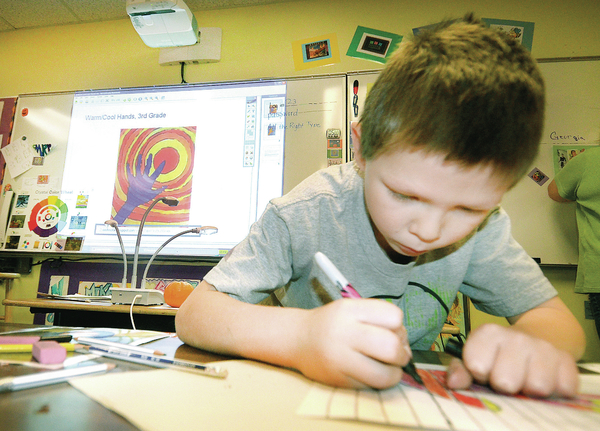 Concrete students get smart with their art