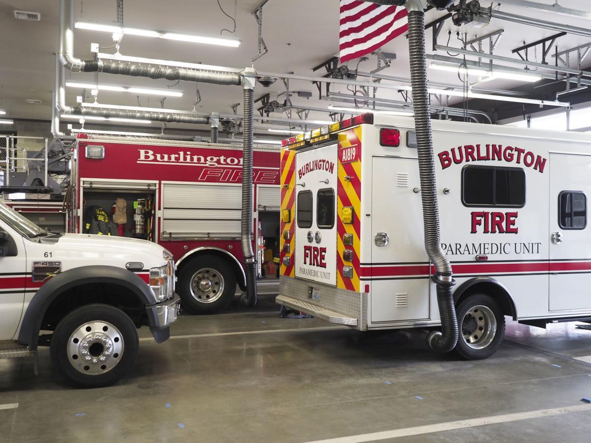 Clean air at Burlington fire station