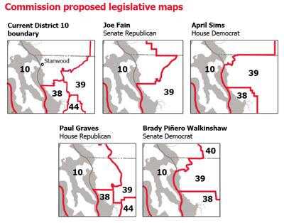Commission proposed legislative maps