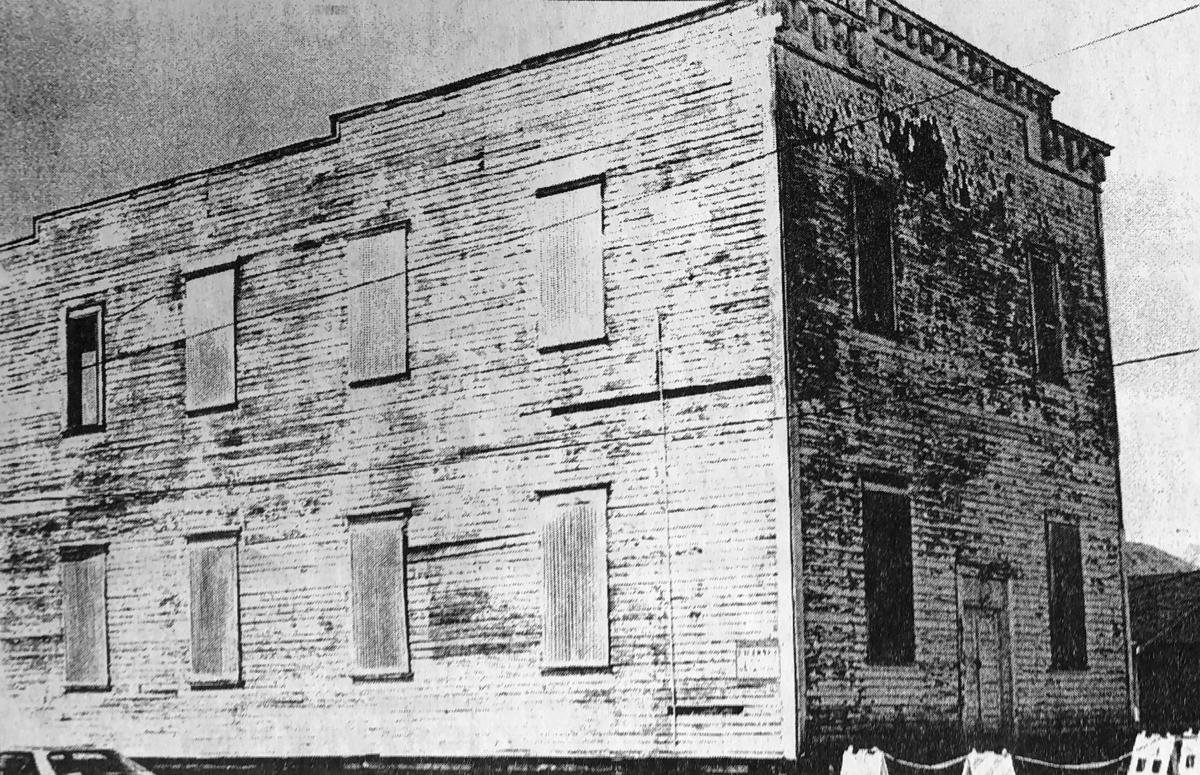 Stanwood's old IOOF Hall