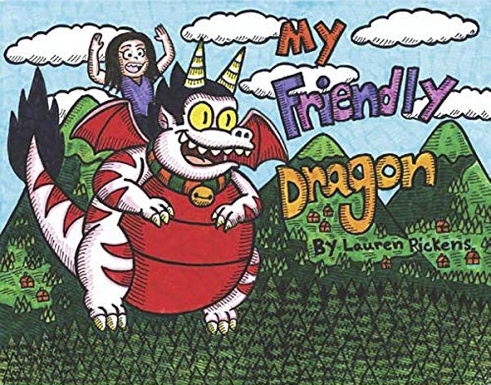 'My Friendly Dragon' Lauren Pickens'