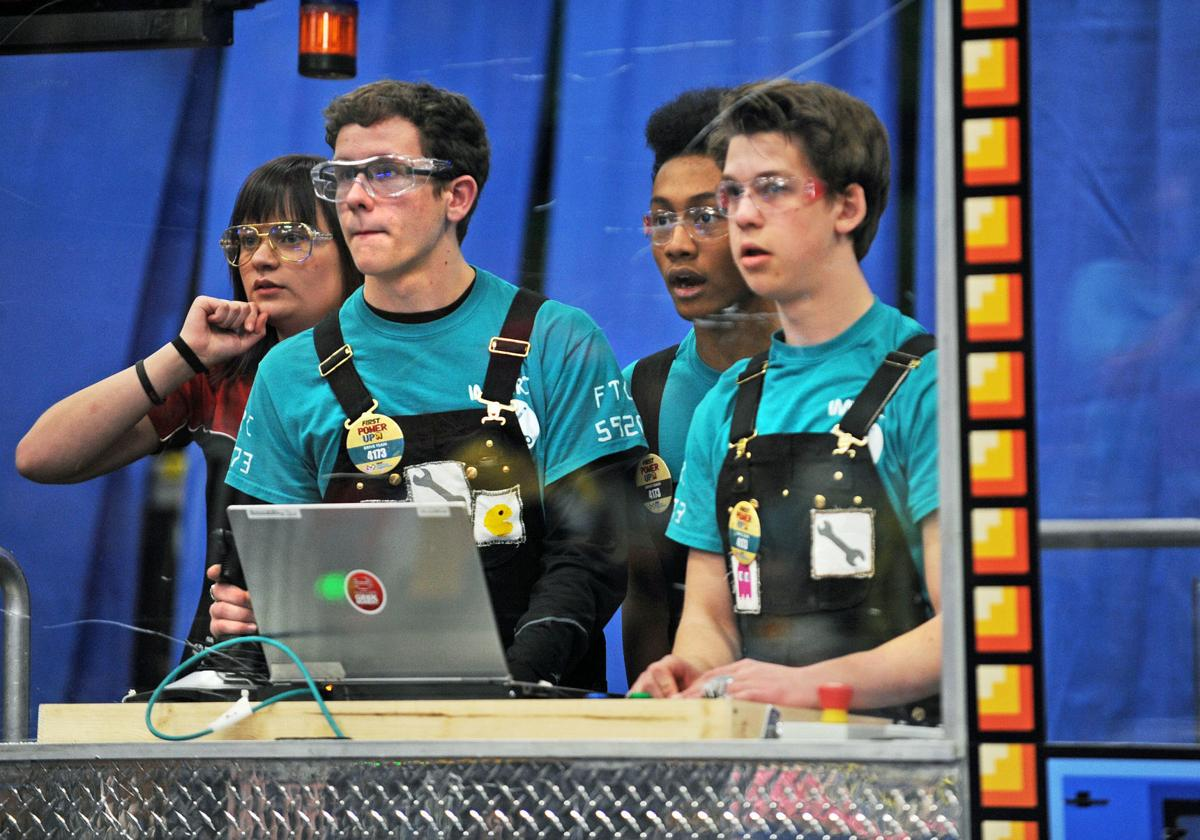 FIRST Robotics competition at MVHS
