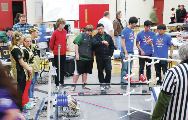 Learning comes FIRST in robotics at MVHS