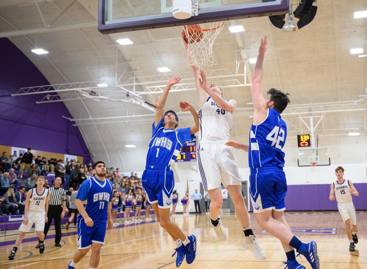Sedro-Woolley at Anacortes boys basketball