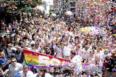 Nyc Pride Parade Is One Of Largest In Movements History