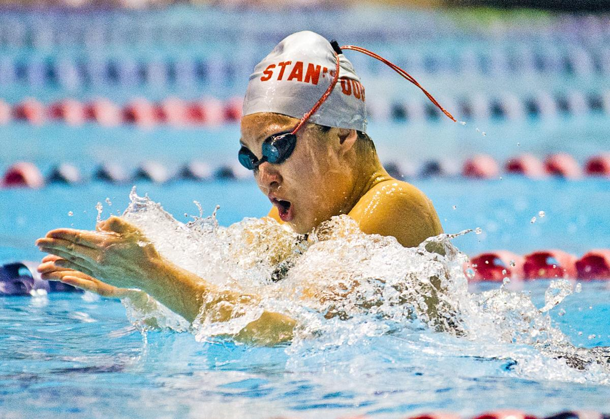 Girls swimming: 3A state prelims, 11.15.19