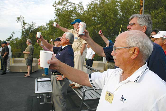 Pilots' Place at airport honors aviators who have 'gone west'