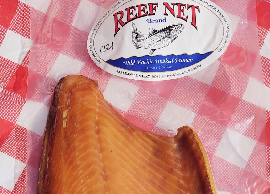 Mount Vernon Kiwanis Club selling smoked salmon