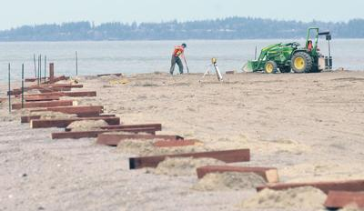 Bay View State Park undergoes beach restoration