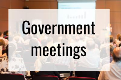 government meetings shutterstock