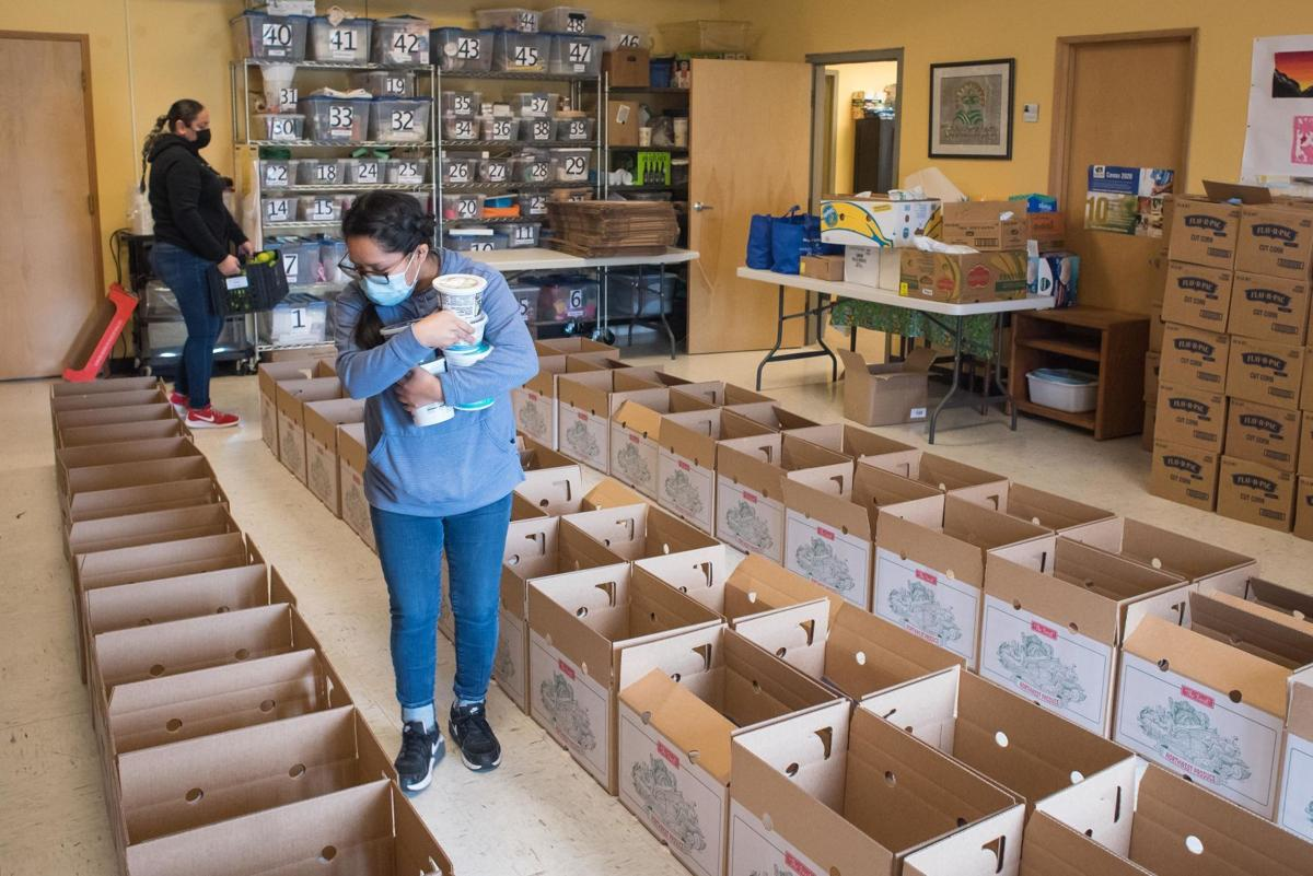 Food Box Distribution 01