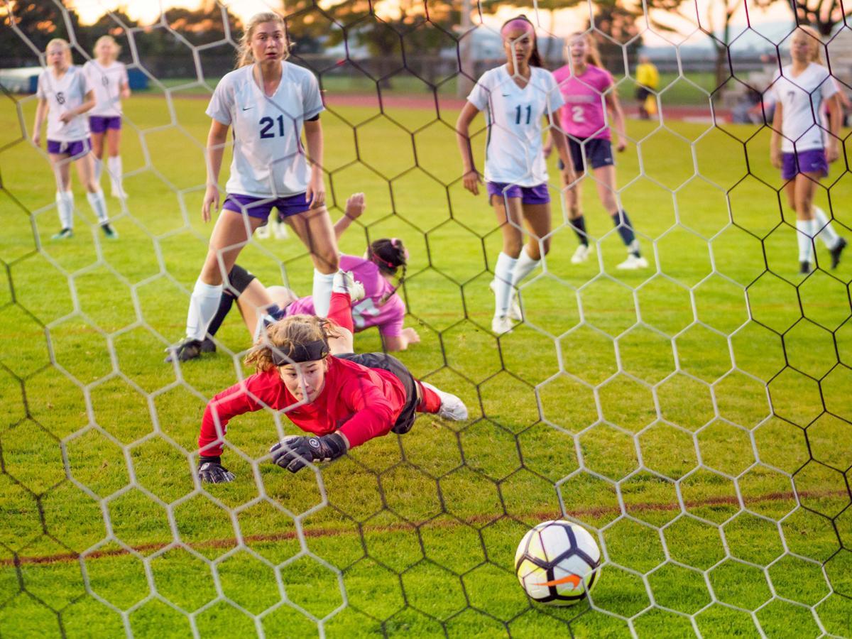 Anacortes at BEHS girls soccer