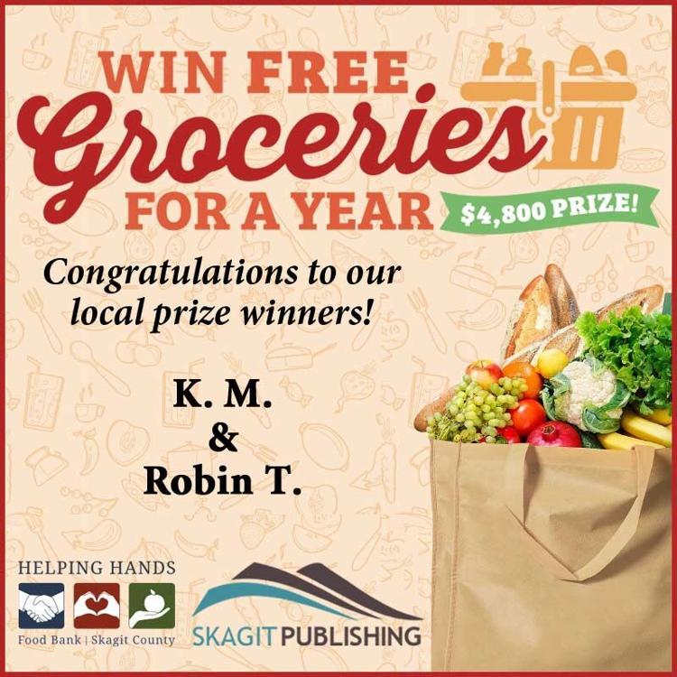 Free Groceries Winner