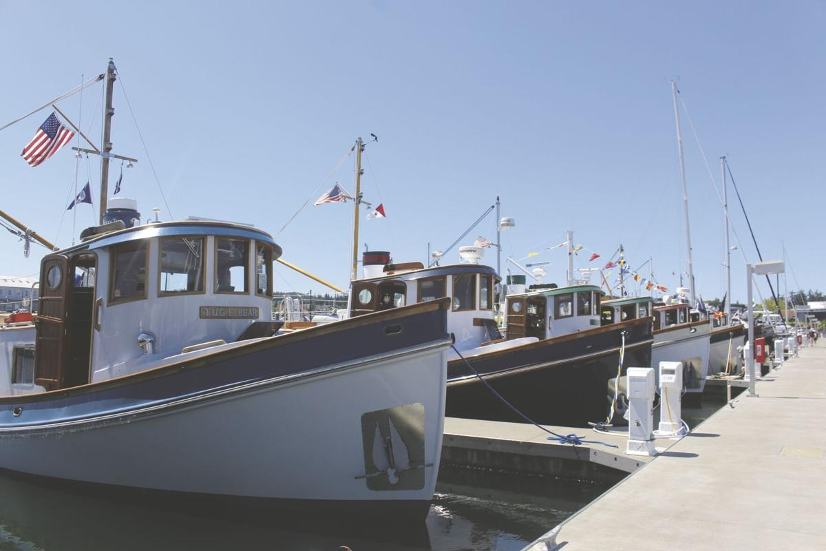 Cap Sante Marina Tugboats