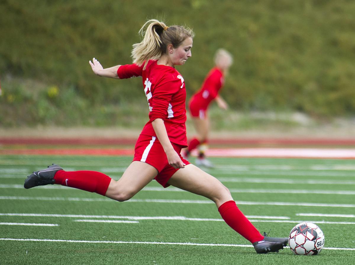 Stanwood girls soccer, 9.11.21