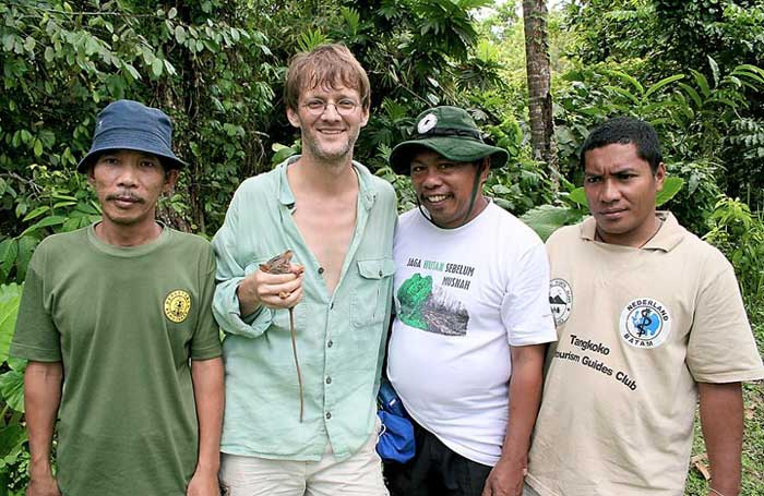 His endangered find: Local scientist works to promote conservation and save primate he discovered