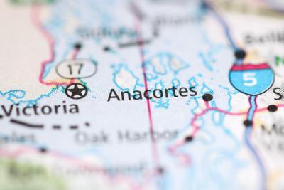 Anacortes stock map