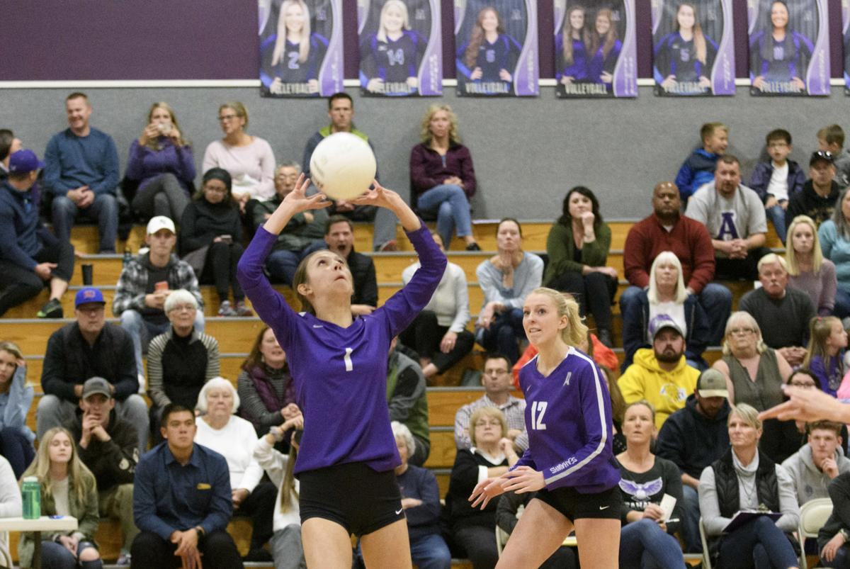 Blaine at Anacortes Volleyball
