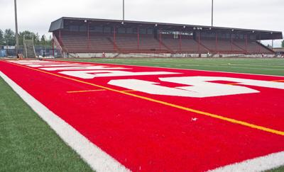 Stanwood stadium field, 8.9.19