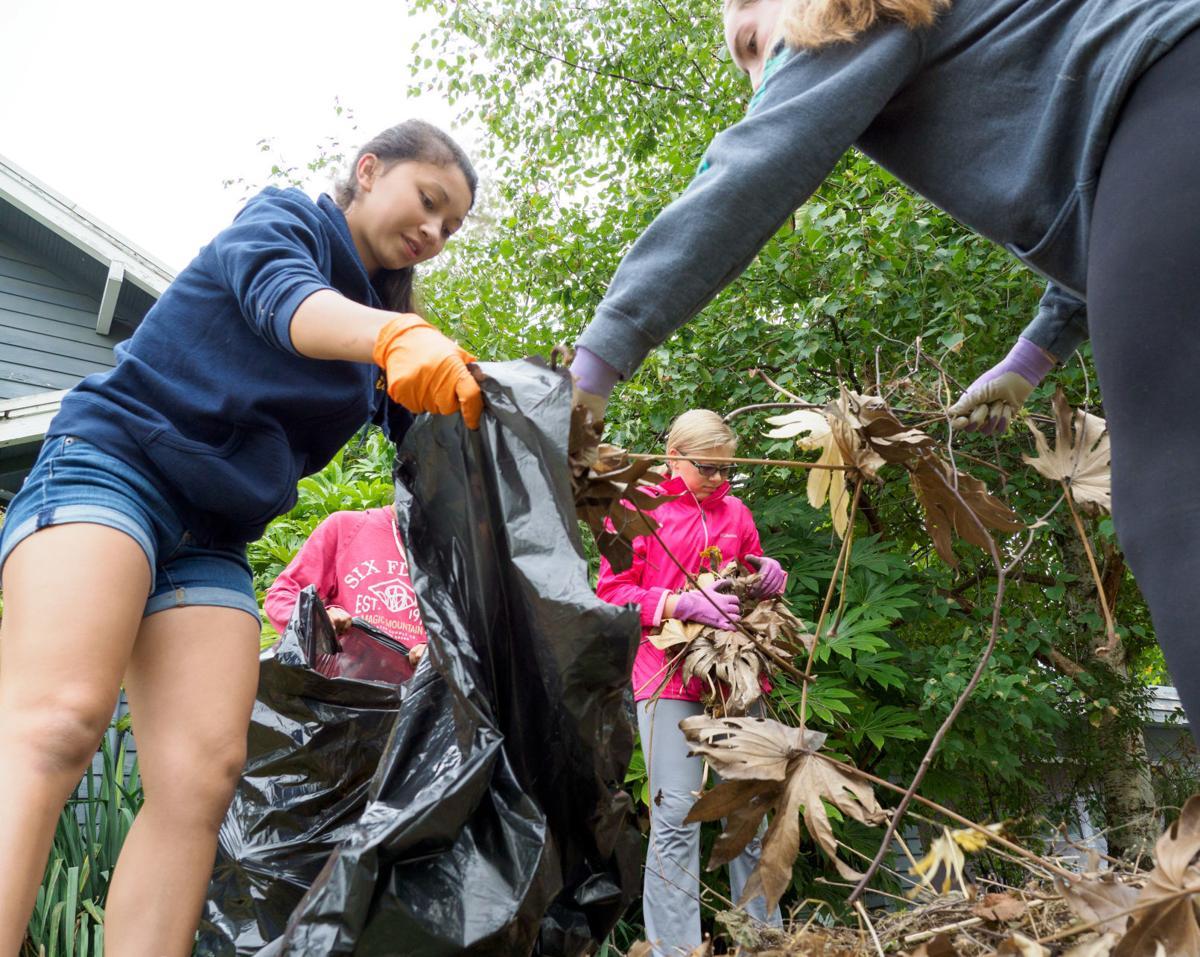 BEHS sports teams cleanup