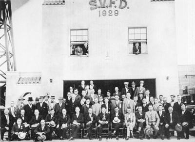Stanwood Fire Hall 1929