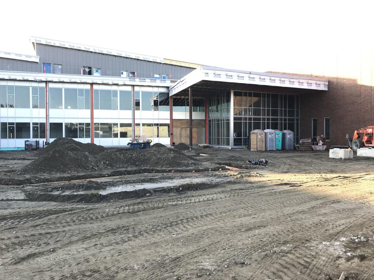 Stanwood High campus construction, 5.21.20