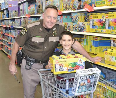 Local children 'Shop with a Cop'