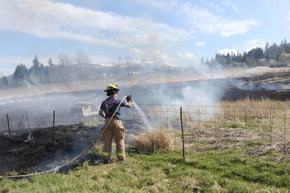 Clear Lake Brush Fire