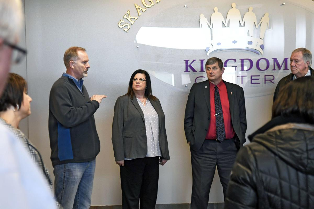 Commissioners tour facility