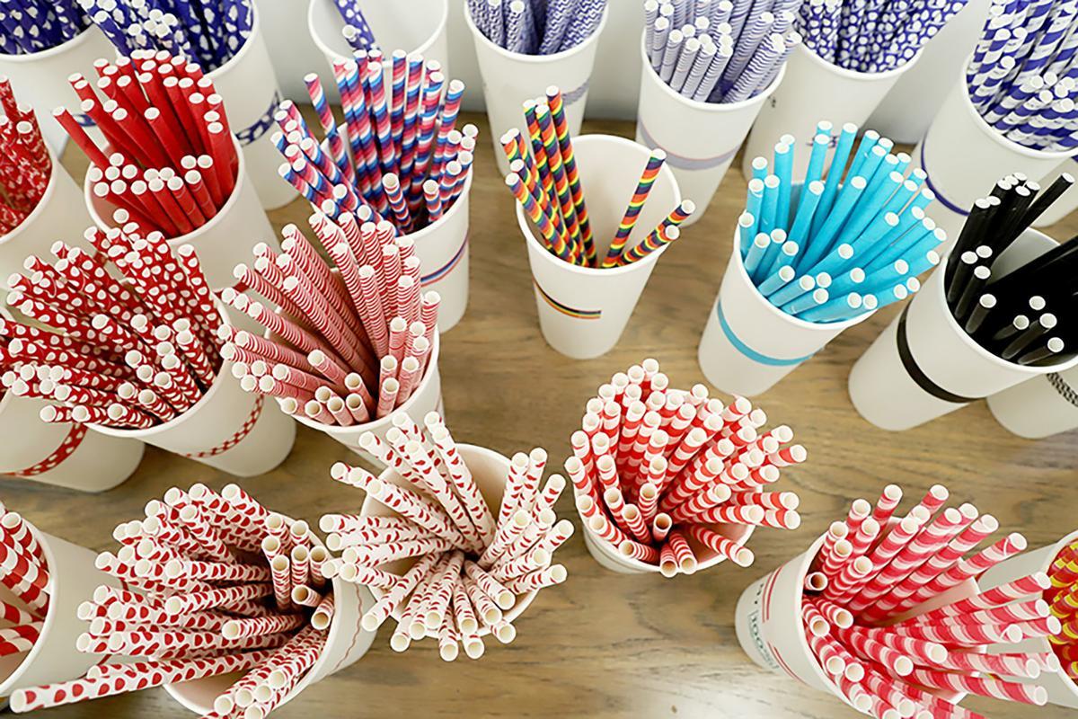 Paper Straws Colors