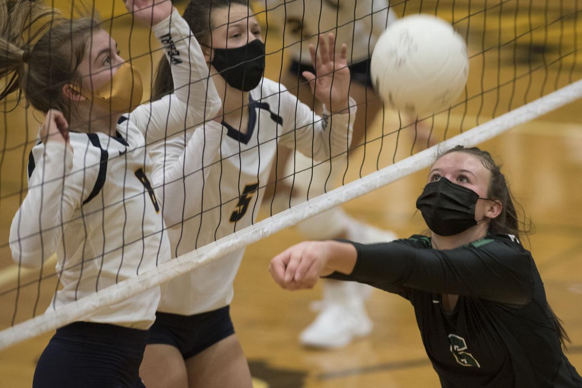 Volleyball - Mount Vernon vs Burlington 02