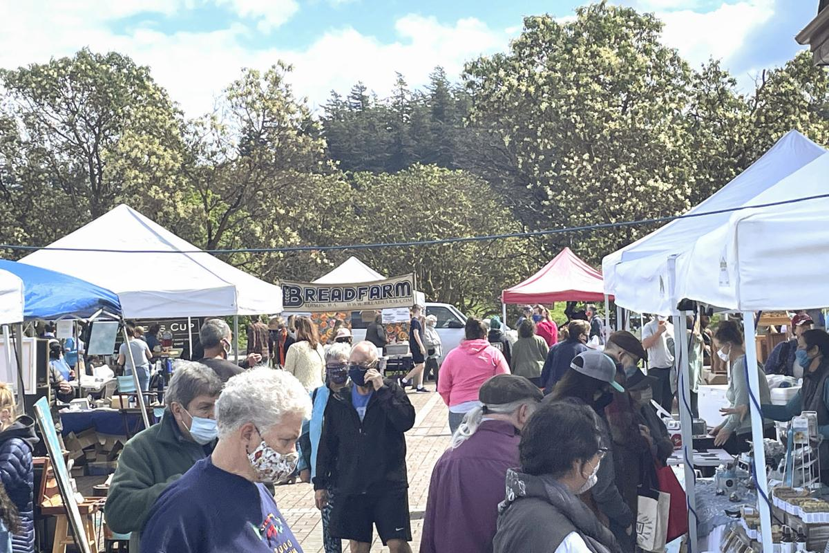 Anacortes Farmers Market opening, May 1, 2021