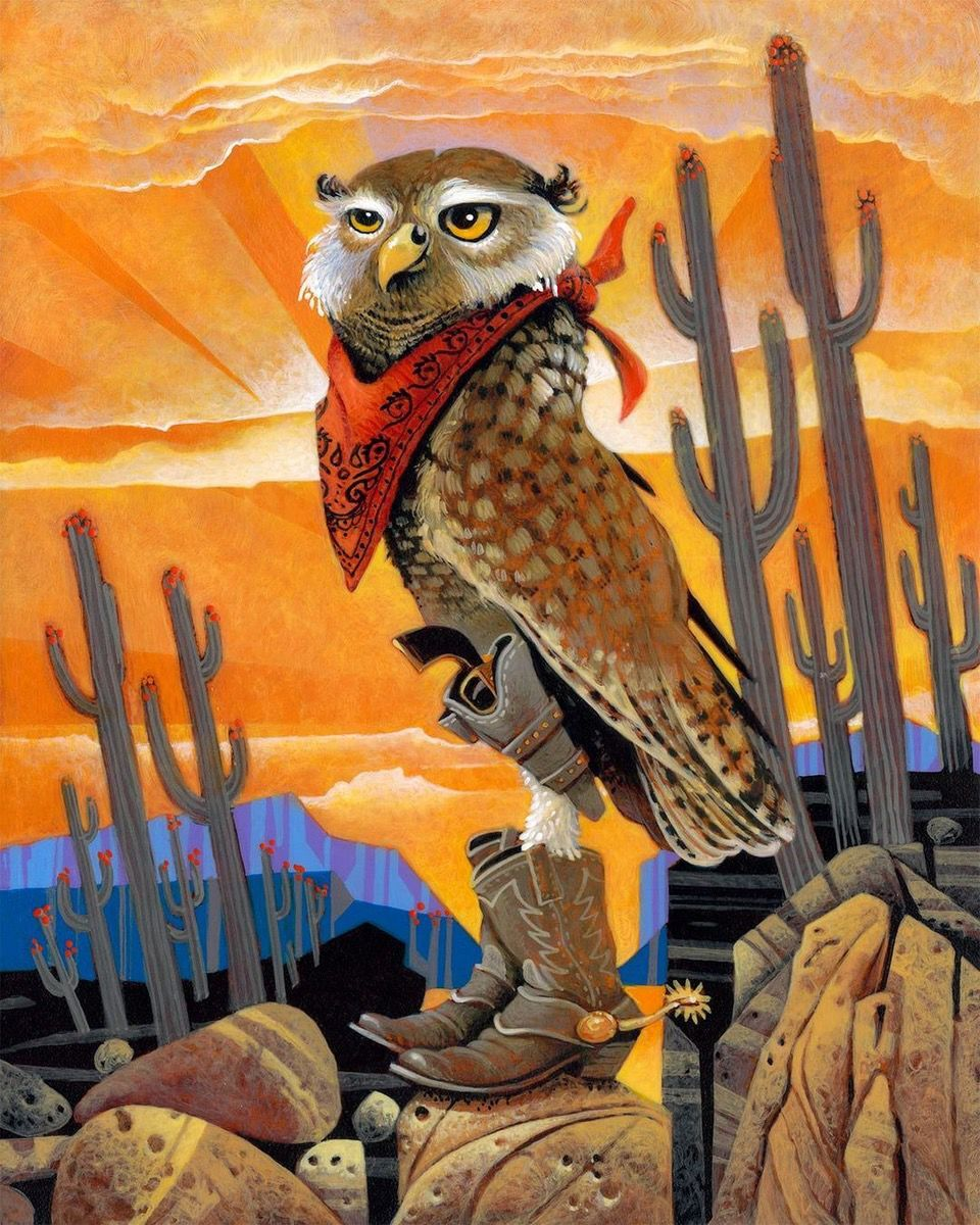 Val Paul Taylor's Hoot the Outlaw