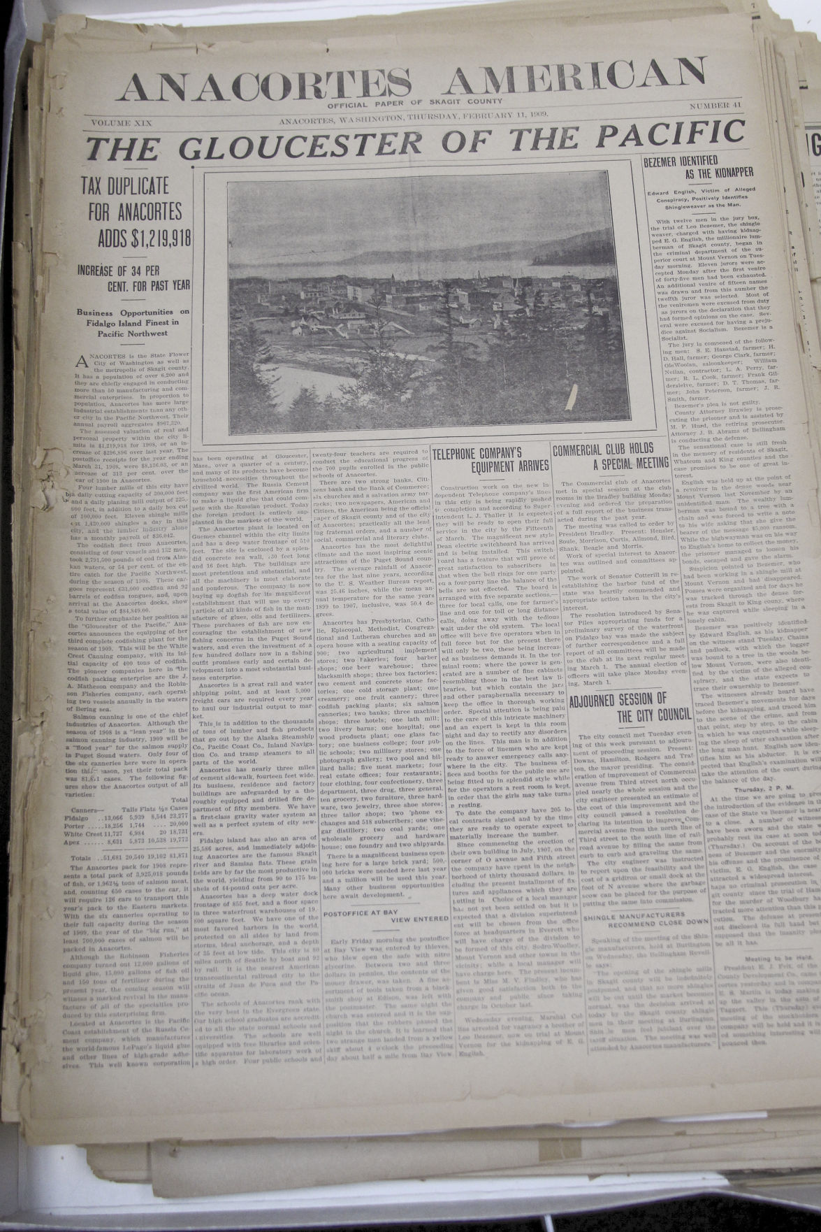 Project gives public access to town's oldest newspapers