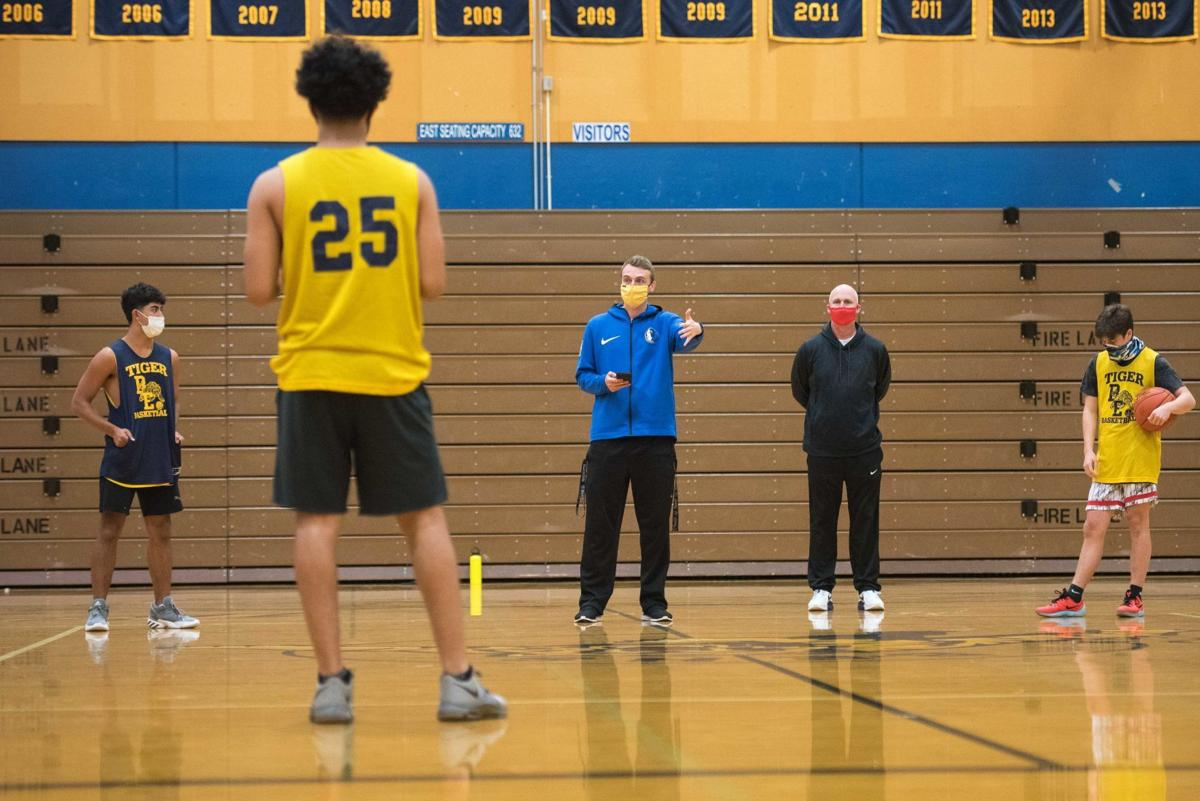 Burlington-Edison Basketball Practice 02