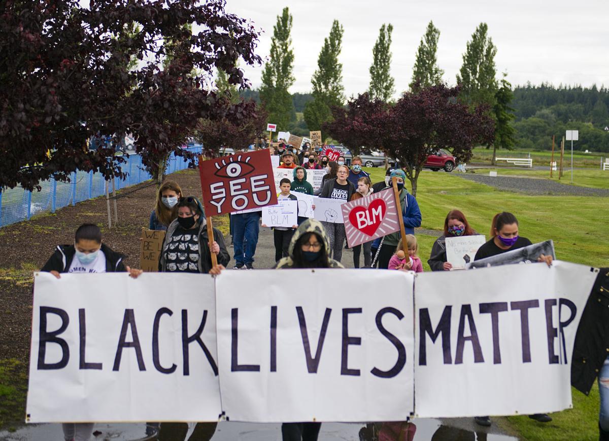 Black Lives Matter march, 6.12.20