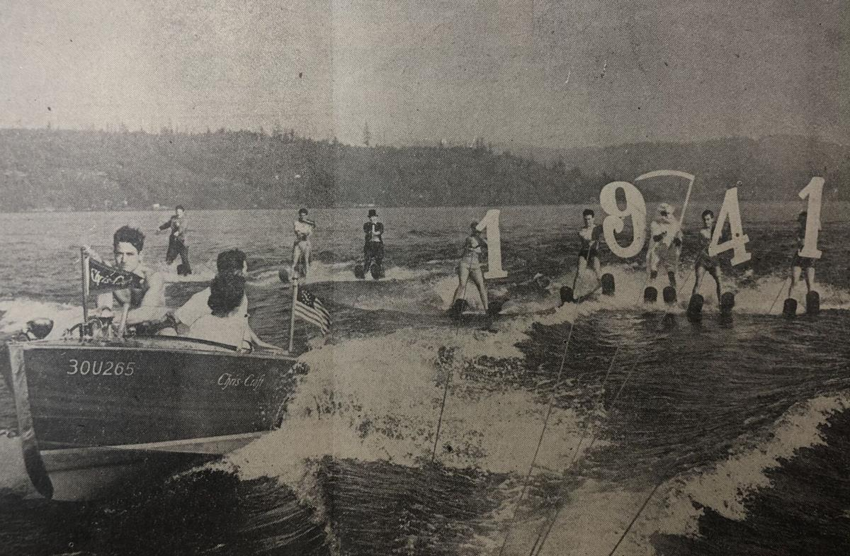 Water Skiers 1941
