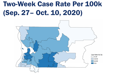 SnoCo covid cases by zip code