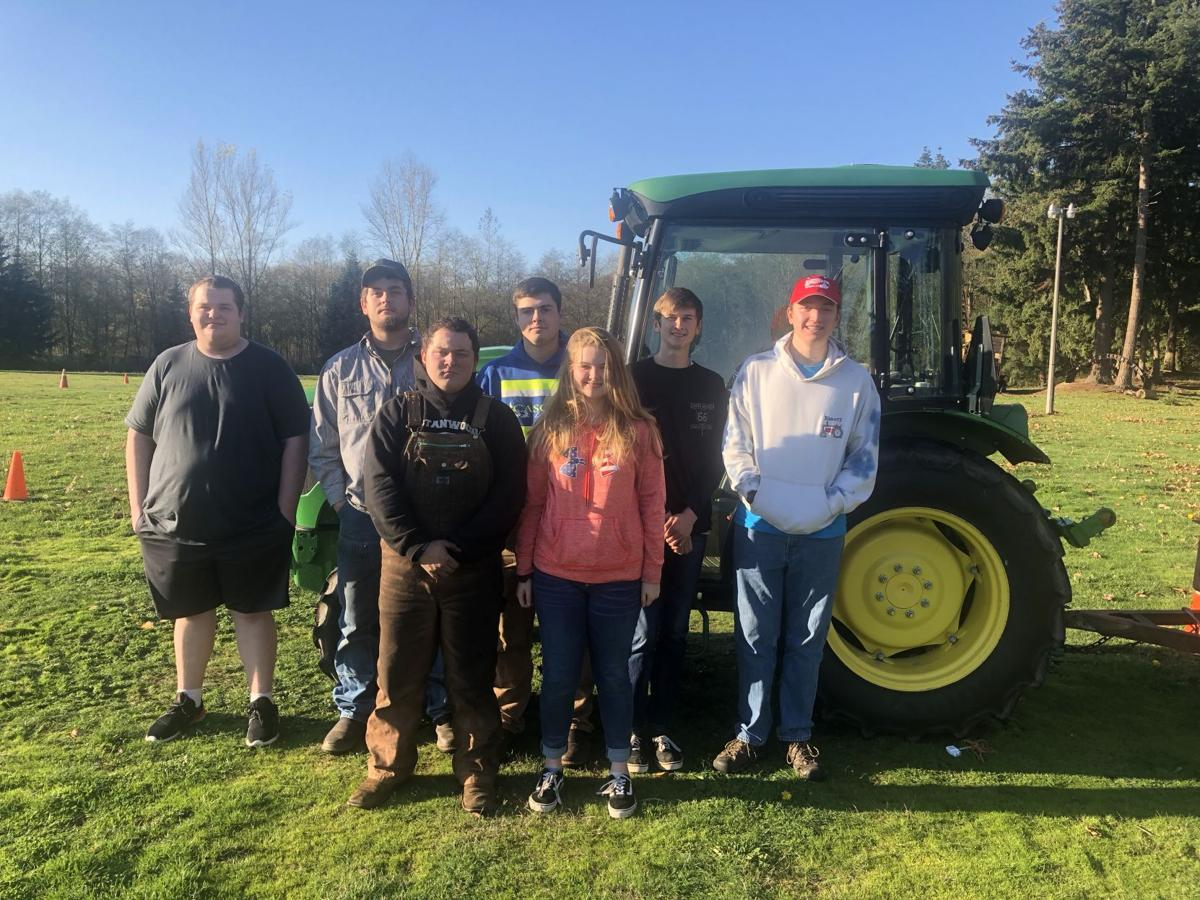 Stanwood FFA tractor driving