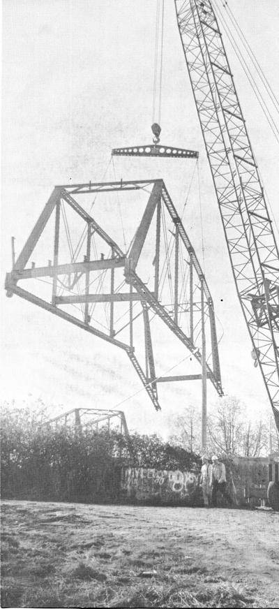 News Files: Florence bridge comes down in 1979